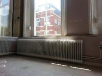 radiator ombouw 1 oude situatie