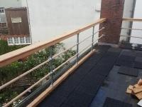 rvs steigerbuis balustrade