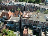 Luchtfoto dakterras Groningen